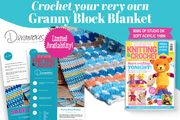 FREE* Deramores Granny Block Blanket Kit When You Subscribe to Let's Get Craftin