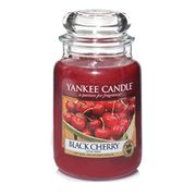Yankee Candle Large Jar Candle, Black Cherry - More Than HALF PRICE!