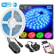 50%Off 5 Meters WiFi RGB Music LED Strip with APP Control