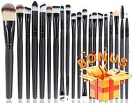 BEAKEY 20+1 Makeup Brush Set Professional (free if you see voucher)