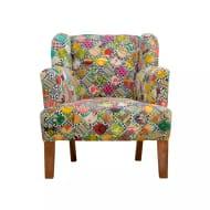 Marlin Patchwork Armchair