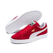 Puma Unisex Adults Suede Classic+ Low-Top Sneakers Red