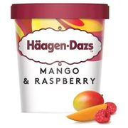 Haagen Dazs Mango Raspberry Ice Cream 460ml