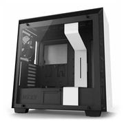 NZXT White H700 Tempered Glass Window Tower PC Gaming Case - 17% Off