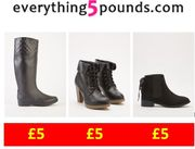 NEED NEW BOOTS? ALL 200+ BOOTS ARE ONLY £5 at Everything5pounds !