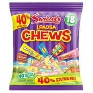 Swizzels Loadsa Chews 135g + 40% Free