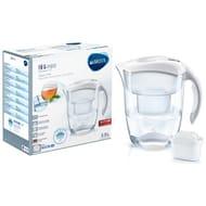 Brita Elemaris Meter XL Water Filter Jug - White