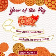 Get a Fortune and Gift for Year of the Pig