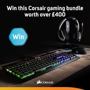 Win a Corsair Peripheral Bundle worth over £400
