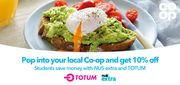 Co-Op 10% off Groceries for Students