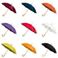 WEEKEND OFFER - X5 Wooden Handle Wedding Umbrellas