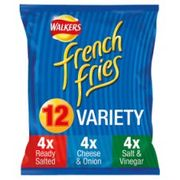 12 Pack Walkers French Fries