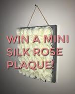 Win a MINI ROSE SILK PLAQUE