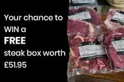 FREE Steak Box worth over £50 if England Wins the Six Nations (Purchase Req)