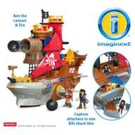 Argos Imaginext Pirate Shark Bite Playset