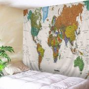 World Map Print Tapestry Wall Hanging Art Decoration 2m X 1.5m