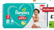 Reduced Pampers