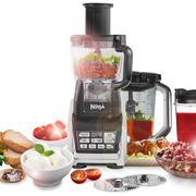 Ninja BL682UK2 2.1 Litre Food Processor with 16 Accessories - Silver