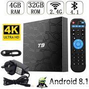 T9 Android 8.1 4K Smart TV Box