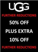 UGG SALE - up to 50% OFF + EXTRA 10% OFF - FURTHER REDUCTIONS