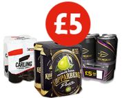 4 Pack of Beer or Cider for Only £5?!