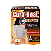 Curaheat Back and Shoulder Pain Patches Pack of 4
