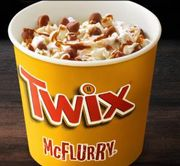 Twix Mcflurry on sale now
