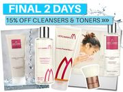 15% off Cleansers & Toners