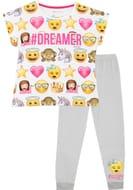 Bargain Girls Emoji Pyjamas