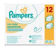 Pampers New Baby Sensitive Baby Wipes Multipack
