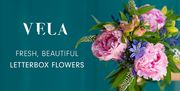 30%off Vela Flowers Fresh, Seasonal Blooms Delivered Straight to the Letterbox