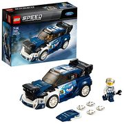 LEGO 75885 Speed Champions Ford Fiesta M-Sport WRC Rally Toy Car for Kids