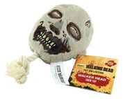 The Walking Dead Pet Collection Walker Head Squeak Chew Dog Toy