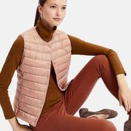 Women Ultra Light down Compact Vest