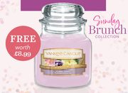 FREE Small Yankee Candle with £50 Spend