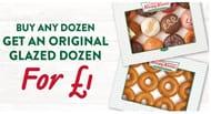 Buy Any Dozen Get a Glazed Dozen for £1
