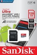 SanDisk 128 GB Ultra A1 Micro SD Card with Adapter