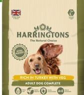 Harringtons Adult Dog Food with Turkey and Vegetables