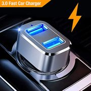 Car Charger, Quick Charge 3.0 36W Dual USB Car Charger