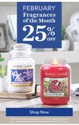 25% off Our Fragrances of the Month.