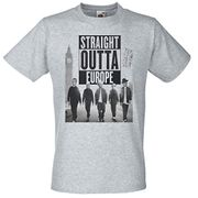 Mens Straight Outta Europe T Shirt