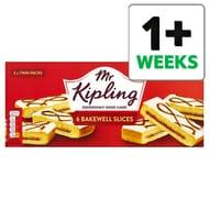 Mr Kipling Bakewell Slices 6 Pack - Half Price