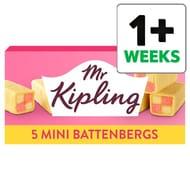 Mr Kipling Mini Battenberg Cakes 5 Pack - Half Price