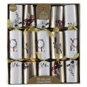 The Spirit of Christmas Deluxe Crackers 10 Pack