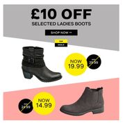 £10 off Selected Boots at Deichmann