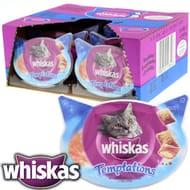 Whiskas Temptations: Salmon (Case of 8 Tubs)