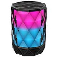 Portable Bluetooth Speaker with HAVA Diamond Wireless LED