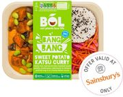 Bol Plant Based Ready Meals Try for £1