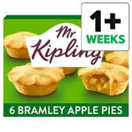 Mr Kipling Bramley Apple Pies 6 Pack