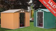 Metal Garden Shed - 2 Sizes
